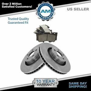 Front Posi Ceramic Disc Brake Pads Rotor Kit For Ford Mustang New