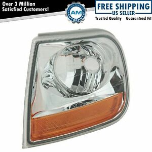 Corner Parking Turn Signal Light Lamp Driver Side Left Lh For Ford F150 Truck