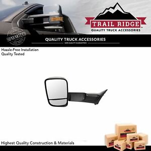 Trail Ridge Towing Mirror Manual Textured Driver Side Left Lh For Dodge Ram New