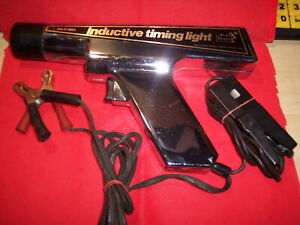 Vintage Sears Auto Tune Up Set Inductive Timing Light Dwell Tach Working Order