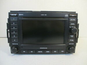 07 08 Jeep Compass Mp3 6 Cd Dvd Navigation Display Radio Rec Oem Lkq