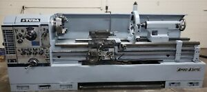 24 X 77 Tuda Gap Bed Engine Lathe 2 3 4 Spindle Bore Taper Attachment