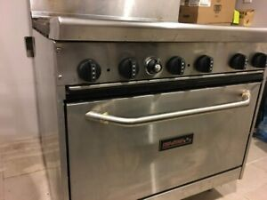 Tri star Tsr6 6 Burner Restaurant Series Range