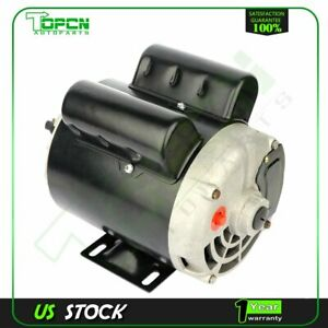 2 Hp Spl Air Compressor Electric Motor 56 Frame 3450 Rpm Single Phase 5 8 shaft