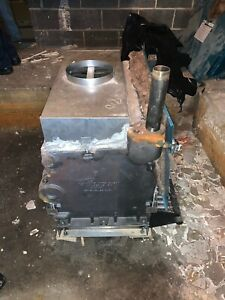 Burnham Boilers Commercial two Natural Gas Chimney Vented Hot Water Boilers