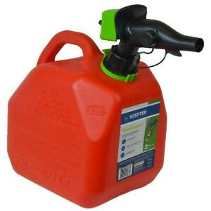 2 Gallon Smartcontrol Rugged Gas Can Spout Air Vent Controllable Flow Rate