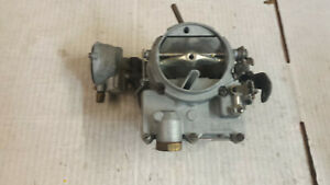 2 Barrel 2 jet Carburetor No Numbers On Carb Rebuilt