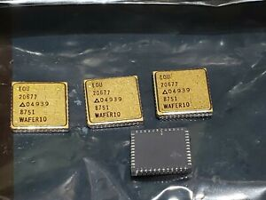 Vintage New Euo 20677 04939 Mil spec Gold Smd Ic Chip 2067704939