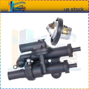 Thermostat Assembly For Dodge Avenger Jeep Compass 2 4l 2008 2009 2010 2011 2013
