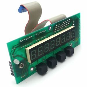 Hart Scientific 010 2b06 Front Panel Lcd Control Board For Dry well 9122
