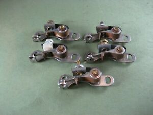 5 Sets Points 1954 1955 1956 Ford Mercury T bird 52 56 Lincoln V 8 Car Truck New