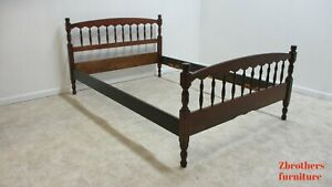 Vintage Stickley Cherry Valley Full Size Spindle Bed Headboard