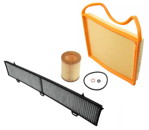 Air Filter Oil Filter Ac Cabin Filter Carbon Bmw 1 Series 135i 335i 335is 335xi