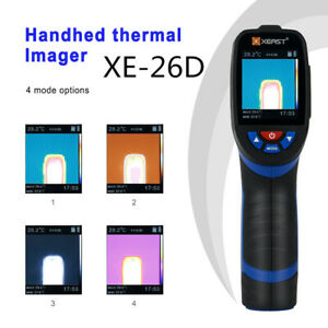 Xe 26d Handheld Thermal Imaging Camera Imager Ir Infrared Thermometer 20 380