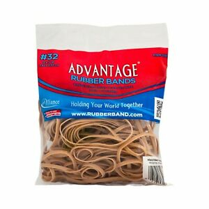 Advantage Rubber Bands Large Size 32 3 X 1 8 Heavy Duty Made In Us
