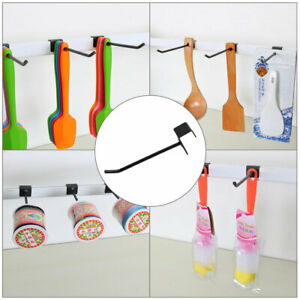 Slat Wall Hooks 1 8 Inch Dia Metal Board Rack For Shop Display Products