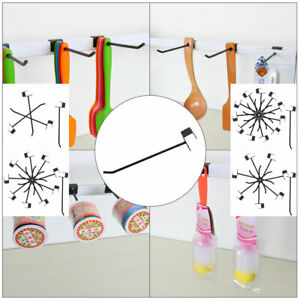 Slat Wall Hooks 1 8 Inch Dia Metal Board Rack For Retail Display Products