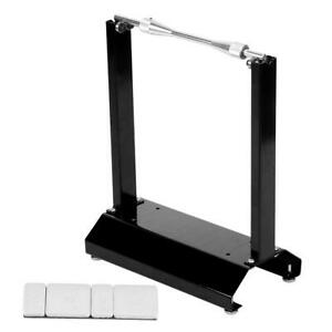 Universal Motorcycle Wheel Tire Balancer Stand Maintenance Support Rack Assembly