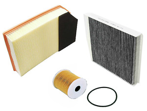 Air Filter Oil Filter Ac Cabin Filter Carbon Volvo Xc90 L5 L6 2003 2006