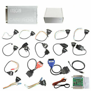 New Carprog Full V10 93 Code Scanner With Software S Activated 21 Items Adapters