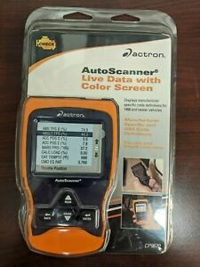 New Actron Cp9670 Autoscanner Trilingual Obd Ii And Can Scan Tool W color Screen