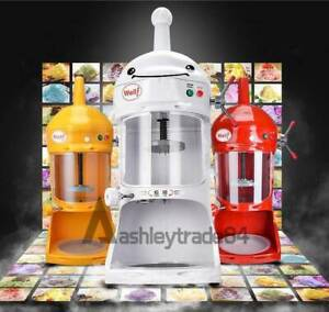 New Commercial Ice Shaver Snow Cone Machine Ice Crusher Maker Ice Block