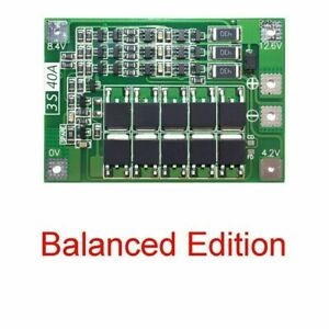 12 6v Lithium Battery Pcb Bms Protection Board For Drill 3s Motor U3o7
