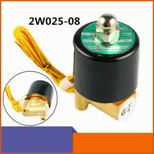 2w 025 08 1 4 Dc 24v Pneumatic Electric Solenoid Valve Water Air Gas Nc