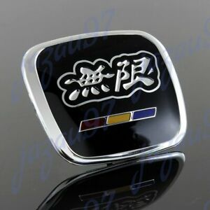X1 Black Mugen Steering Wheel Tb Emblem For Civic Accord S2000 Fa5 Fd2 Jdm