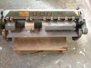 Pexto Finger Brake 24 In Very Good Working Conditions