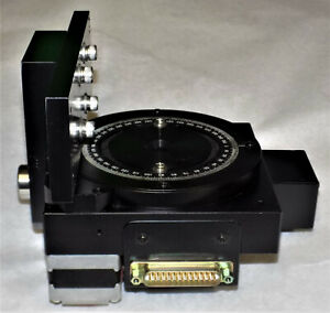 Sigma Koki Motorized Rotation Stage 360 Degree Scale 88mm Rotary Optical
