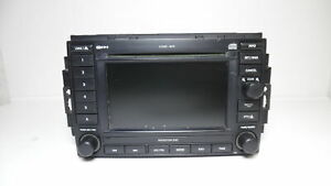 2006 2009 Dodge Ram 2500 Navigation Cd Player Radio Receiver W Display Rec Oem
