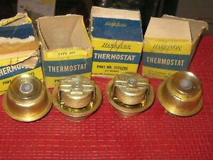 New 1933 1956 Hudson Plymouth Studebaker Thermostat Lot 155 Degrees 4 Pcs