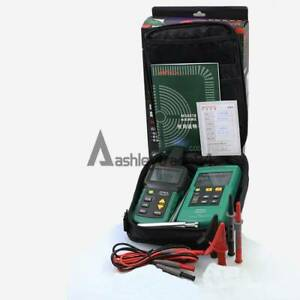 Ms6818 Mastech Wire Cable Finder Locator Network Line Metal Pipe Tester Detector