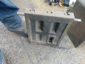 Cast Iron T slot Plate From Tilt Table 10x13