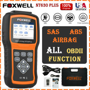 Foxwell Nt630 Plus Obd2 Engine Check Abs Srs Airbag Sas Car Diagnostic Scanner