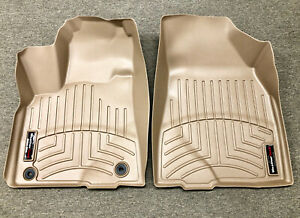 New For 14 19 Toyota Highlander Floor Liner Rubber Mat Pad 1st Row Weathertech