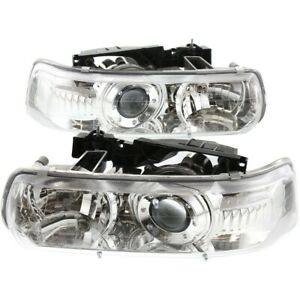 Headlight Lamp Left and right For Chevy Suburban Lh Rh Silverado 1500 Tahoe Hd