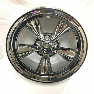 U s Mags 200s U114 Chrome Wheel Rim 17 X 7 5x4 75