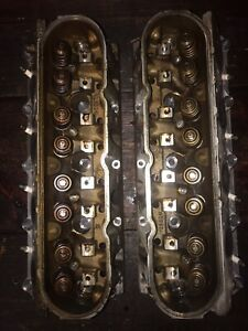 Chevy 5 3 Cylinder Heads 799 Casting pair