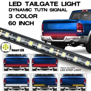 60 Redline Triple core 3in1 Led Tailgate Light Bar Sequential Turn Signal Strip