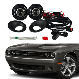 Fog Lights Projector Driving Bumper Lamps Switch For Dodge Challenger 5182021aa
