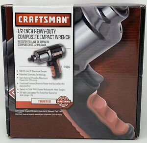 Craftsman 19984 1 2 Heavy duty Composite Impact Wrench 919984