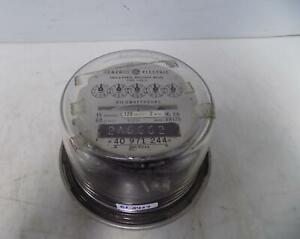 General Electric Single phase Watthour Meter