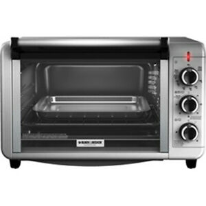 Black decker 6 Slice Counter Top Toaster Oven To3210ssd