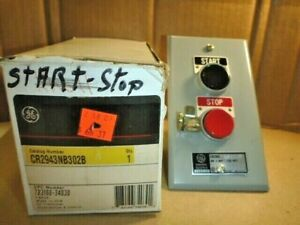 Cr2943nb302b General Electric Start stop 2 Push Button Motor Control Station