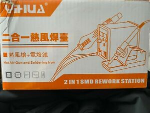Yihua 898d 2 In 1 Smd Rework Station Soldering Iron Hot Air 898 mb1