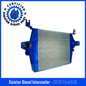 Sinister Diesel Intercooler For 2003 2007 Ford Powerstroke 6 0l