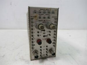Tektronix Dual Trace Amplifier 7a12 337 1064 01 Plug In Module For Oscilloscope