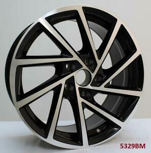 18 Wheels For Vw Jetta S Se Gli Hybrid 2006 Up 5x112 18x7 5